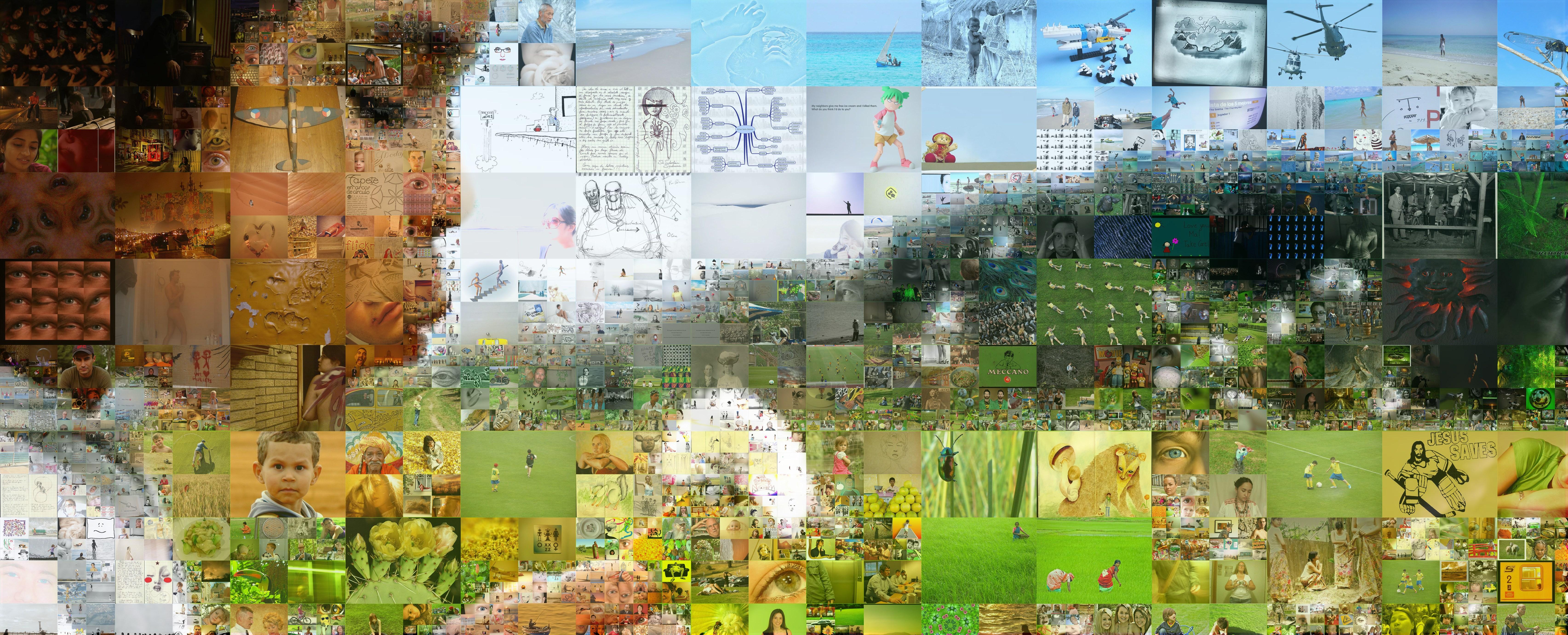 Der Detail Style Ermöglicht Es, Die Anzahl Und Größe Der Kacheln Des  Mosaiks Noch Besser An Das Originalbild Anzupassen. Dort, Wo Das Original  Viele Details ...
